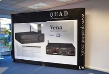 Popup Stand Examples | Portable Exhibition Stands / Pop-up stands for exhibitions and trade fairs.