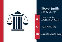 Legal Business Card Templates