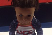 AMERICAN GIRL / Customize your team's uniform to your American Girl!