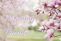 Morning friends