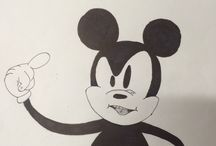 Micky / My drawings of Micky Mouse