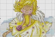 Kinder Stitch / Cross stitch board for kids.