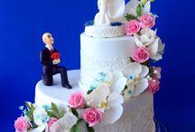 Свадебные торты / Торты, свадебные торты, сахарные цветы