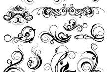 Caligrafia, Arte y Diseño