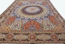 Персидские ковры ручной работы / Лучшие персидские ковры ручной работы. Фото иранских ковров ручной работы в интерьере.