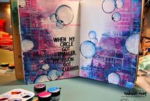 Mixed media + Art Journal