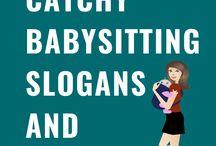 90 Babysitting Slogans and Taglines