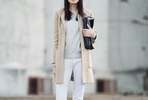 Moda - Looks - Calças brancas