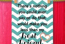 quotes / The best quotes about friends