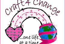 For my blog: Craft 4 Change / Love 2 Craft + Enough 2 Care = Craft 4 Change! Check us out: http://craft4change.blogspot.com / by Robyne Cortes