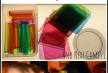 Light Table / Play-based activities for the four-year-old classroom