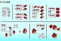 LEGO-instrukser til fede modeller