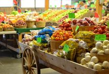 Support Local / The Market On Macleod is a year round indoor farmers' market located in Calgary, Alberta. With a friendly feel and a warm ambience, it has everything you need from fresh local and organic meat, produce and dairy, as well as ethnic restaurants, cafes and meals to go.  http://marketonmacleod.com