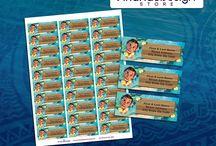 Printable Address Labels / Etiquetas para Direcciones Imprimibles
