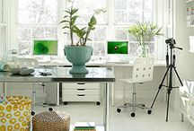 my dream office / I want an office just like this...