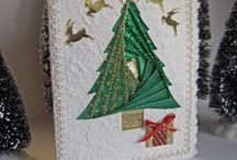 Christmas / Christmas decorations, cards, DIY and art.