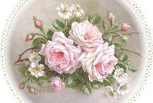 dekupaj çiçek