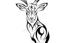 tribale zwierzęta