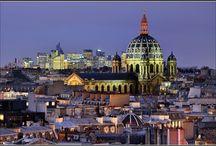 Le 8e et toits / Prenons un peu de hauteur pour admirer un autre des charmes de Paris : ses toits.