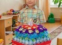 Именинные тортики для деток и не только))