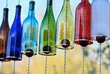 üvegpalack díszítés