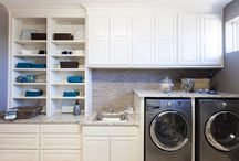 laundry room ideas / by Monica Kunkel