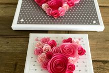 Valentine's Day / Fun Ideas for Valentine's Day crafts, gifts, and dates!