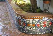 Backyard and garden tiles