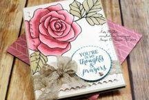 Inspirations Cartes / Cartes Stampin'Up! et autres idées trouvées lors de mes promenades sur le net !