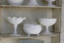 Delight In Milk Glass / by Lisa M. Pace