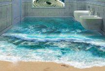 Epoxy Floors, 3D Murals, Walls