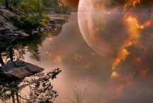 Moon & Universe