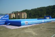 Inflatable Arenas/Courts / Inflatable sports fields and arenas for a sports game ANYWHERE.