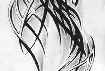 dragon tattoo concept
