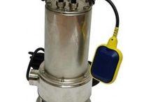 Pompe submersibile pentru ape murdare / In acest panou se gasesc pompe submersibile pentru ape murdare din inox, plastic sau fonta .