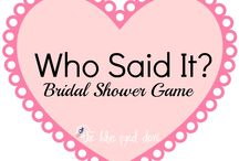 Bridal Shower / by Danielle Pezely