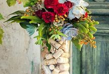 Spring Cork Crafts / Welcome the warm Spring weather with these cork crafts!