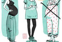 moda embarazo