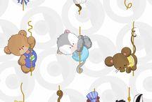 kreslené motivy pro děti