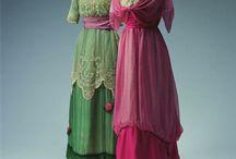 1900-tals klänningar