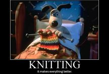 Knitting  / Knitting soothes my spirit, except when it vexes me! / by Susie