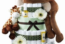 "Rattlecake Diaper Cakes / Your best source for awesome diaper cakes at great prices.  We give you more diapers and ingredients for your money...check our competitors for yourself.  Shipping is free on products $100 or over and $4.99 for anything less.  Rattlecake Diaper Cakes...The ""Sweet"" Treat You Don't Eat! -- www.rattlecake.com / by Michelle Storms"
