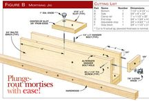 Woodworking Jigs and Accessories  / by Aaron Kesseler