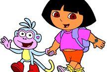 Dora - obrázky