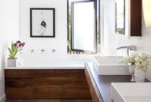 Interior Spaces-Bathrooms / by Alyssa Boland