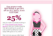 Trixie Deals / by Trisha Trixie Designs