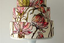 Hand Painted / Hand painted cakes & cupcakes