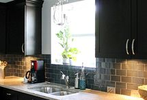 Kitchen renovations / repair, painting, organizing kitchen cupboards
