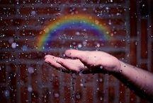 RAINBOW LOVE / Anything & Everything RAINBOW  Rainbows are so sexy!