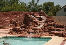 Gardens and Water Landscapes / Styrofoam is a durable material to add to your garden, backyard or water feature. Great landscaping ideas. www.buyfoamblocks.com or www.univfoam.com #Styrofoam